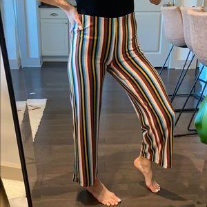 ⚜️ Silence+Noise striped high waist pants